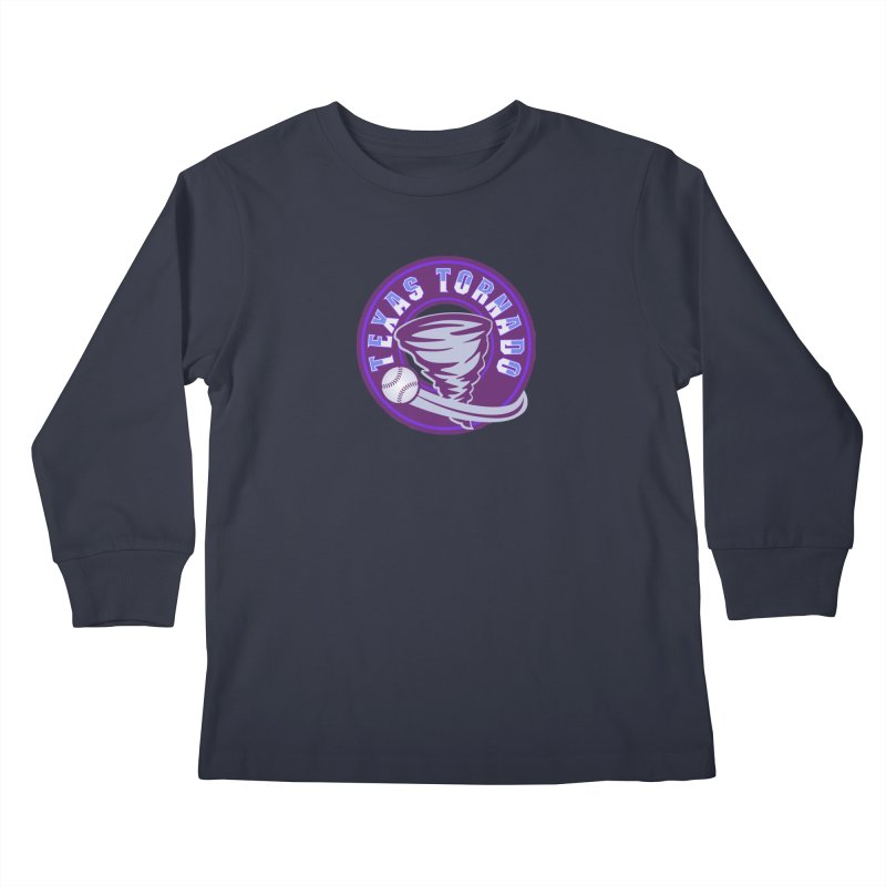 Texas Tornado (Wait for It) (Small Design) Kids Longsleeve T-Shirt by M A R I A N A    Z A P A T A