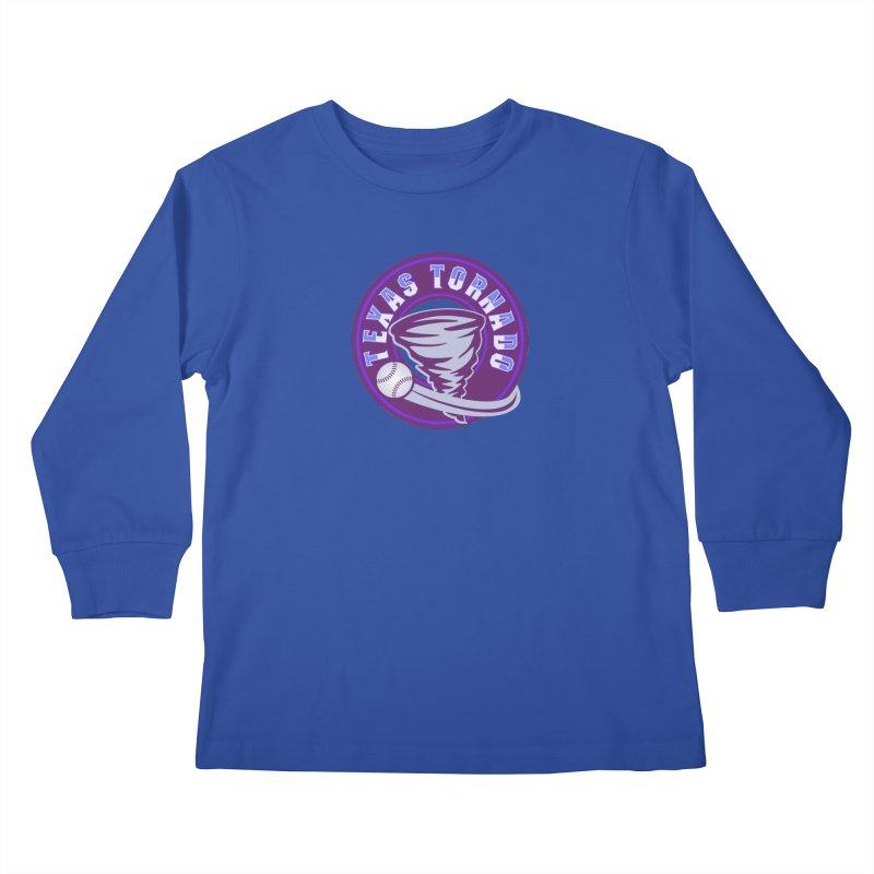 Texas Tornado (Wait for It) (Small Design) Kids Longsleeve T-Shirt by M A R I A N A    Z A P A T A