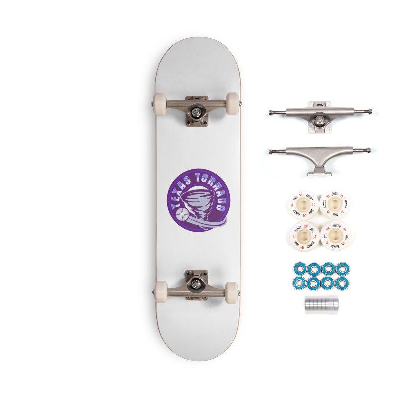 Texas Tornado (Wait for It) (Small Design) Accessories Complete - Premium Skateboard by M A R I A N A    Z A P A T A