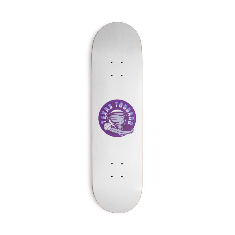 Texas Tornado (Wait for It) (Small Design) Accessories Deck Only Skateboard by M A R I A N A    Z A P A T A