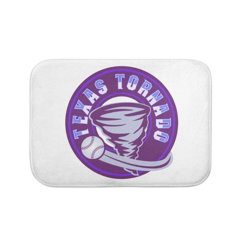 Texas Tornado (Wait for It) (Small Design) Home Bath Mat by M A R I A N A    Z A P A T A