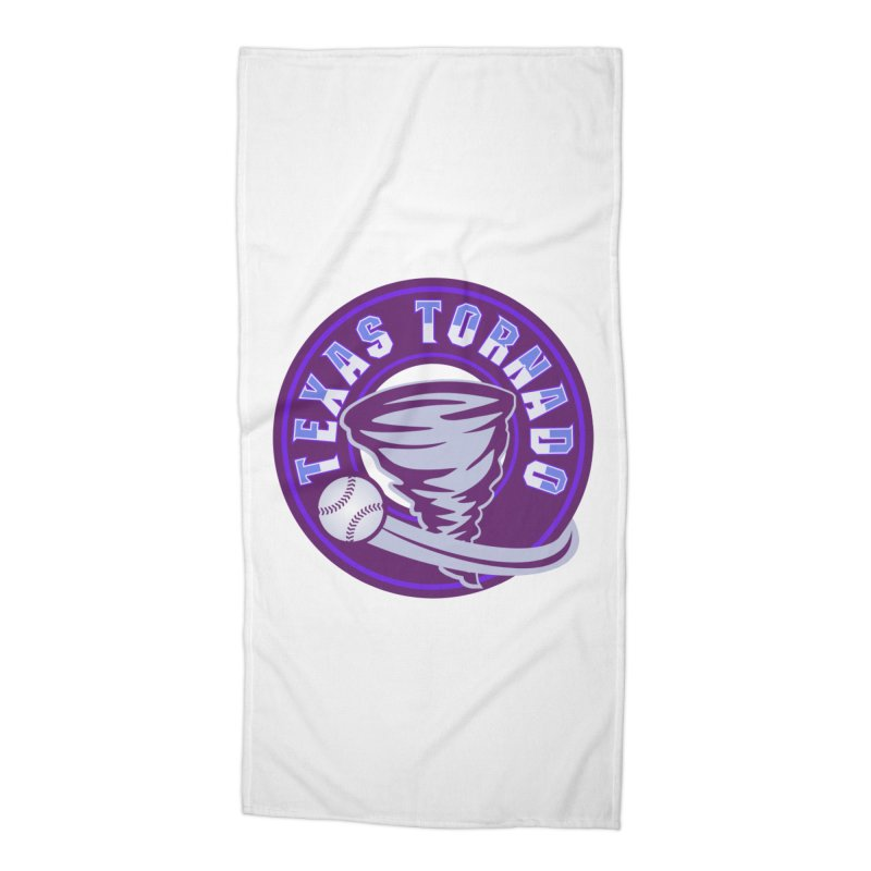 Texas Tornado (Wait for It) Accessories Beach Towel by M A R I A N A    Z A P A T A