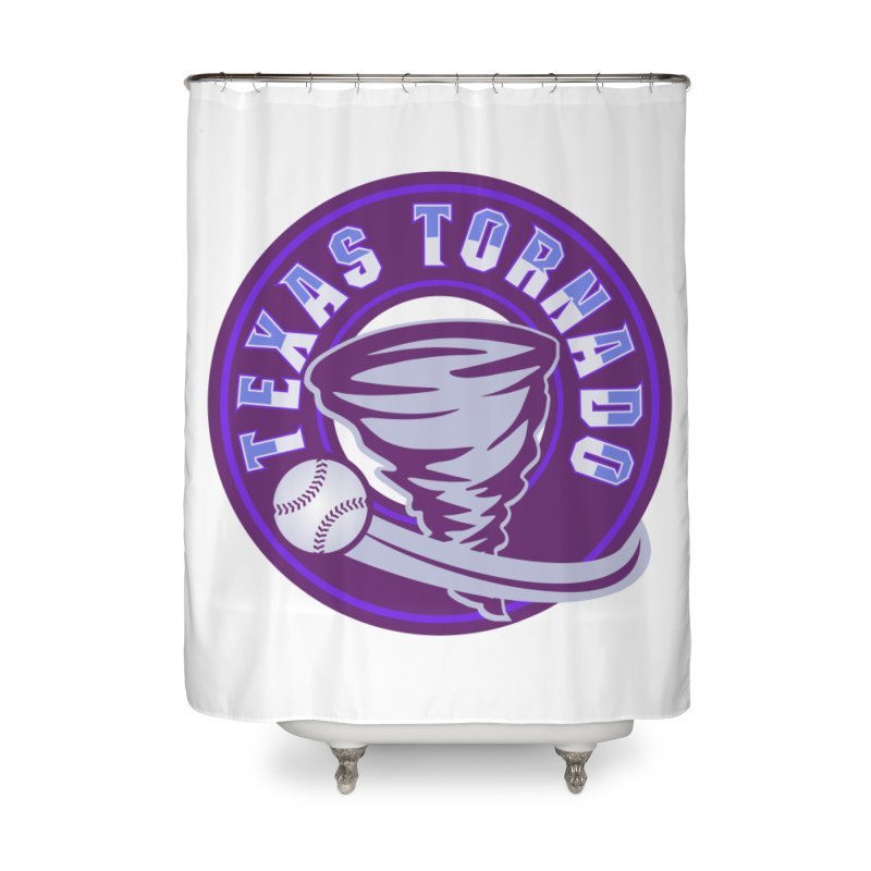 Texas Tornado (Wait for It) (Small Design) Home Shower Curtain by M A R I A N A    Z A P A T A