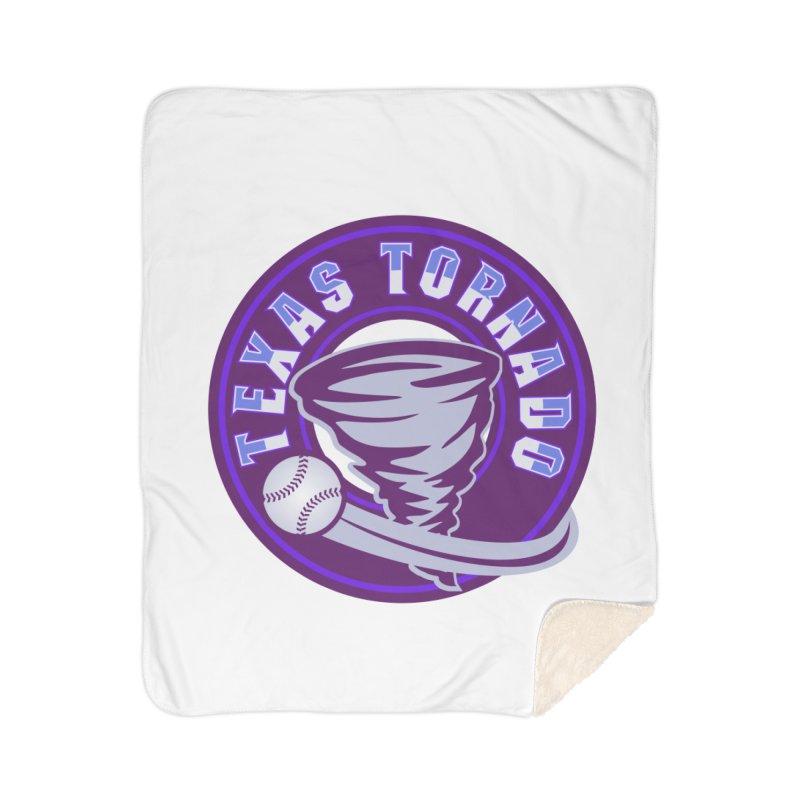 Texas Tornado (Wait for It) Home Sherpa Blanket Blanket by M A R I A N A    Z A P A T A