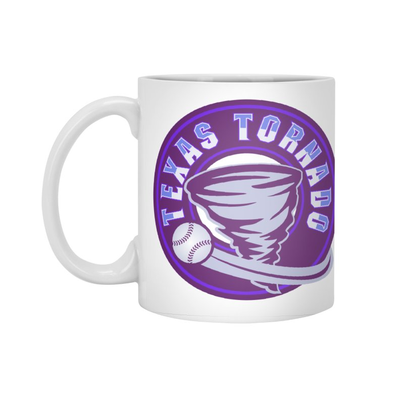 Texas Tornado (Wait for It) (Small Design) Accessories Standard Mug by M A R I A N A    Z A P A T A