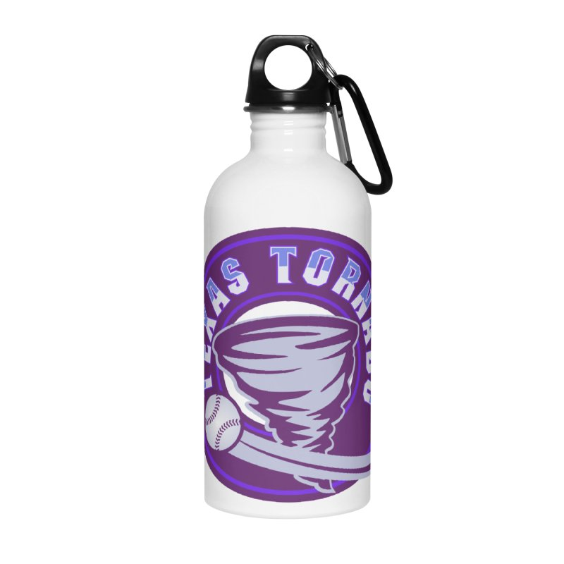 Texas Tornado (Wait for It) Accessories Water Bottle by M A R I A N A    Z A P A T A