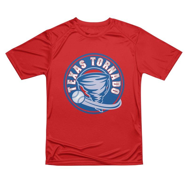 Texas Tornado (Wait For It) Large Design Women's Performance Unisex T-Shirt by M A R I A N A    Z A P A T A