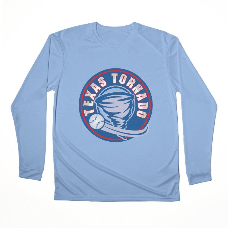 Texas Tornado (Wait For It) Large Design Women's Performance Unisex Longsleeve T-Shirt by M A R I A N A    Z A P A T A