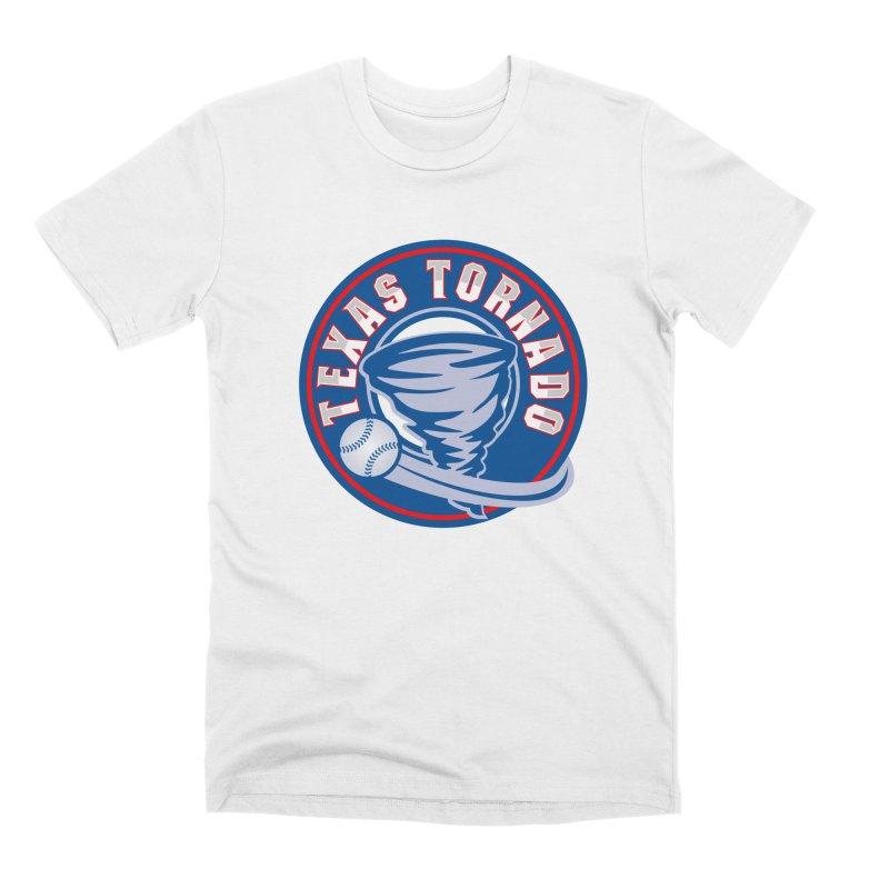 Texas Tornado (Wait For It) Large Design Men's Premium T-Shirt by M A R I A N A    Z A P A T A