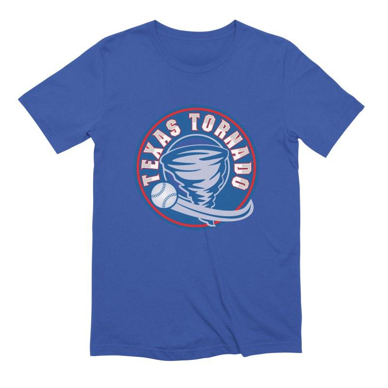 Texas Tornado (Wait For It) Large Design Men's Extra Soft T-Shirt by M A R I A N A    Z A P A T A