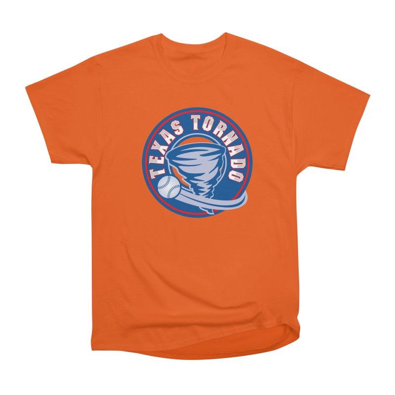 Texas Tornado (Wait For It) Large Design Women's Heavyweight Unisex T-Shirt by M A R I A N A    Z A P A T A