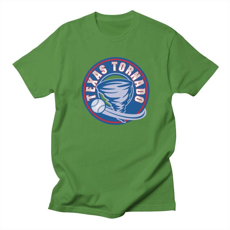 Texas Tornado (Wait For It) Large Design Men's Regular T-Shirt by M A R I A N A    Z A P A T A