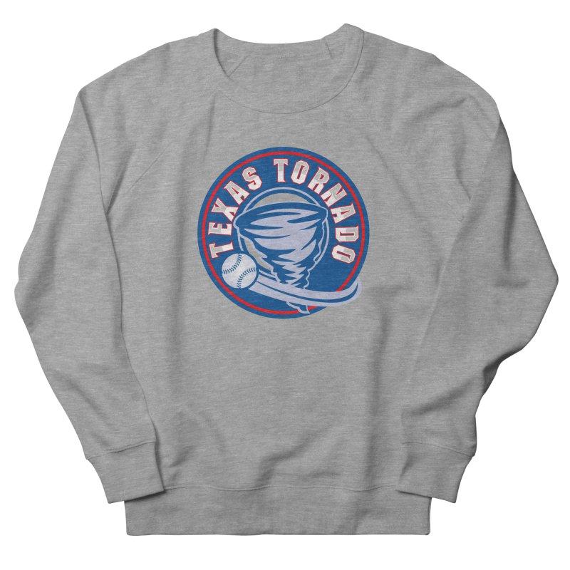 Texas Tornado (Wait For It) Large Design Women's French Terry Sweatshirt by M A R I A N A    Z A P A T A