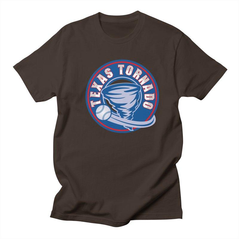 Texas Tornado (Wait For It) Large Design Men's T-Shirt by M A R I A N A    Z A P A T A