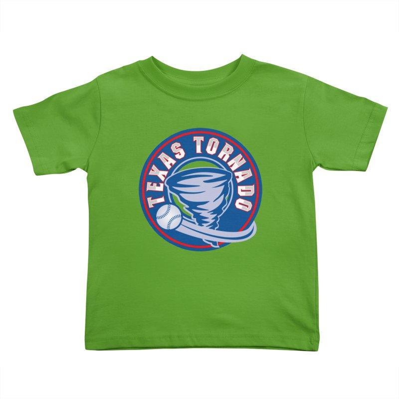 Texas Tornado (Wait For It) Large Design Kids Toddler T-Shirt by M A R I A N A    Z A P A T A