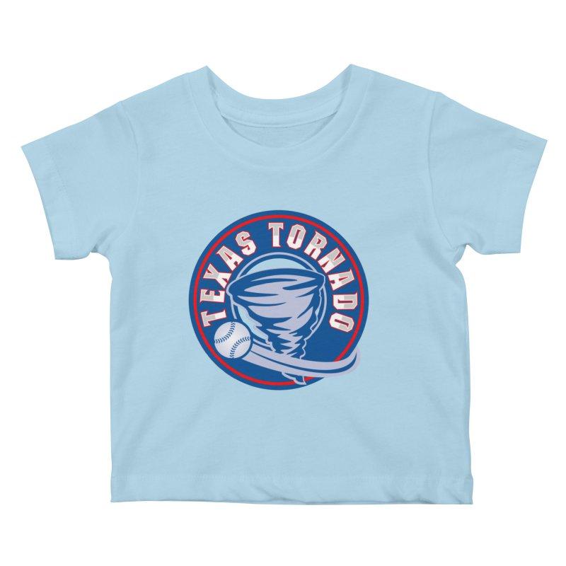 Texas Tornado (Wait For It) Large Design Kids Baby T-Shirt by M A R I A N A    Z A P A T A