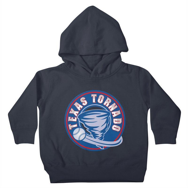 Texas Tornado (Wait For It) Large Design Kids Toddler Pullover Hoody by M A R I A N A    Z A P A T A