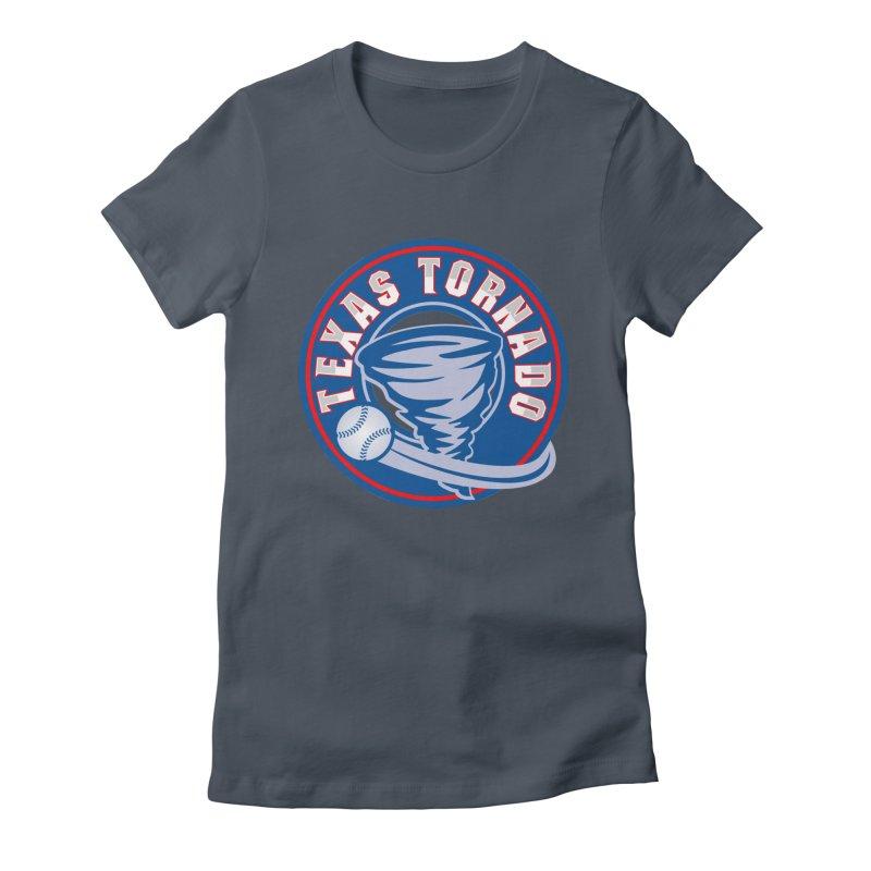 Texas Tornado (Wait For It) Large Design Women's T-Shirt by M A R I A N A    Z A P A T A
