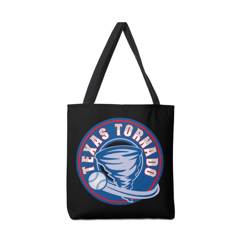 Texas Tornado (Wait For It) Large Design Accessories Tote Bag Bag by M A R I A N A    Z A P A T A