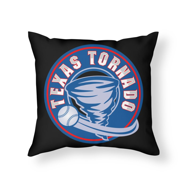 Texas Tornado (Wait For It) Large Design Home Throw Pillow by M A R I A N A    Z A P A T A