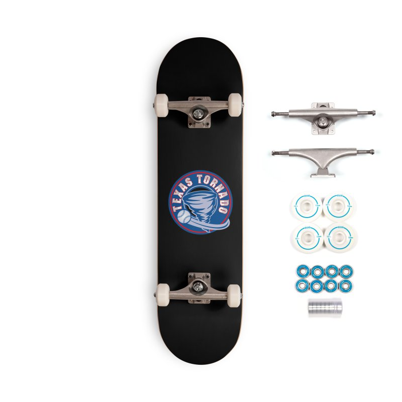 Texas Tornado (Wait For It) Large Design Accessories Complete - Basic Skateboard by M A R I A N A    Z A P A T A