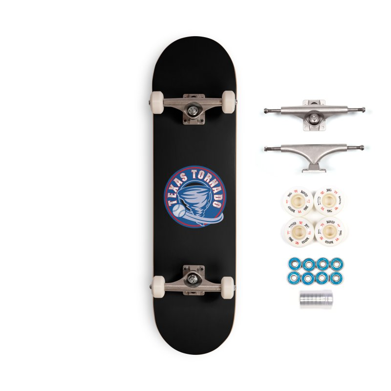 Texas Tornado (Wait For It) Large Design Accessories Complete - Premium Skateboard by M A R I A N A    Z A P A T A