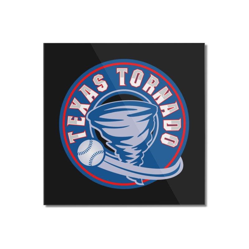 Texas Tornado (Wait For It) Large Design Home Mounted Acrylic Print by M A R I A N A    Z A P A T A
