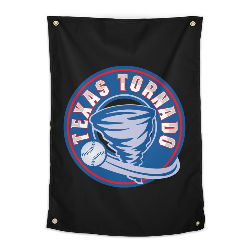 Texas Tornado (Wait For It) Large Design Home Tapestry by M A R I A N A    Z A P A T A