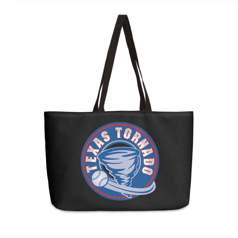 Texas Tornado (Wait For It) Large Design Accessories Weekender Bag Bag by M A R I A N A    Z A P A T A
