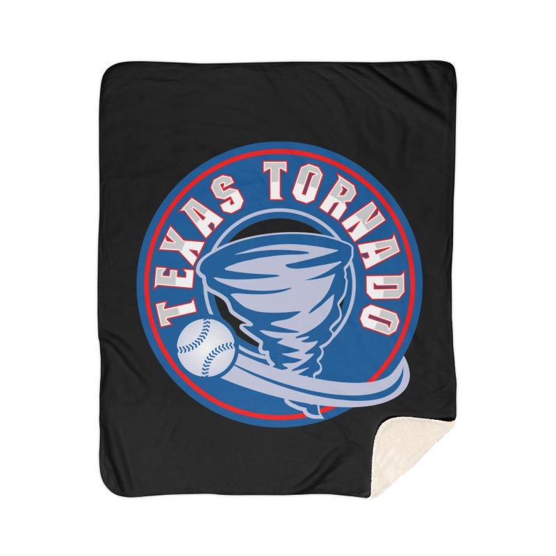 Texas Tornado (Wait For It) Large Design Home Sherpa Blanket Blanket by M A R I A N A    Z A P A T A