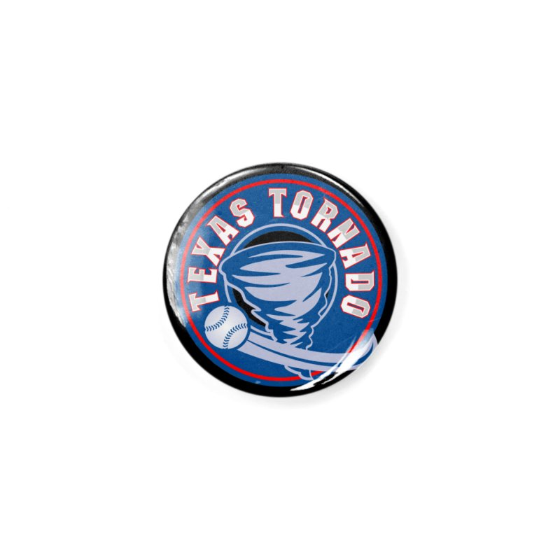 Texas Tornado (Wait For It) Large Design Accessories Button by M A R I A N A    Z A P A T A