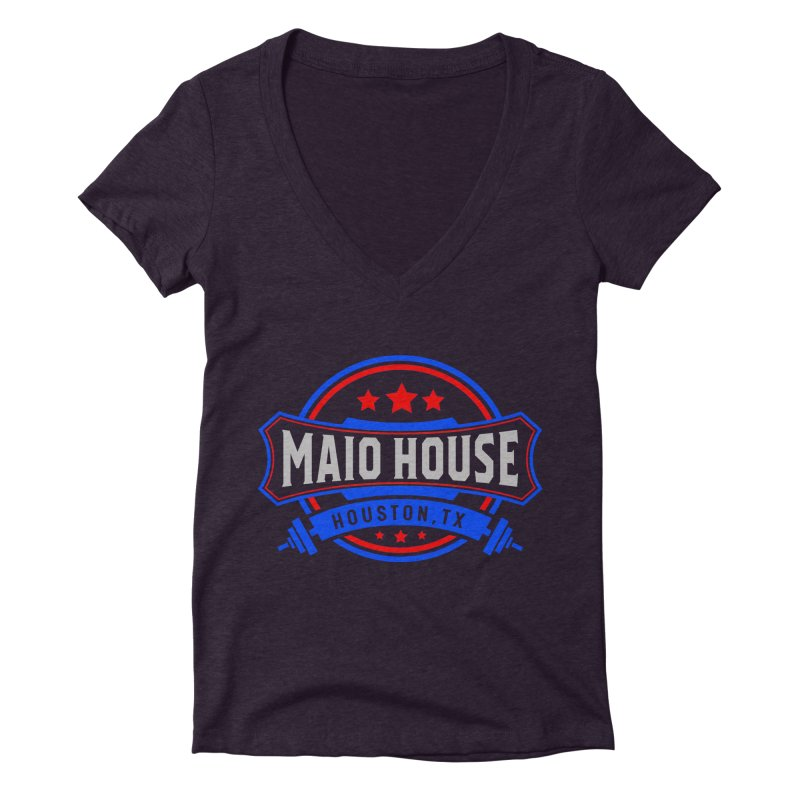 Maio House (The Best Thing) Women's Deep V-Neck V-Neck by M A R I A N A    Z A P A T A