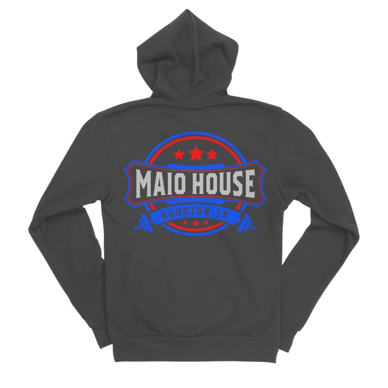 Maio House (The Best Thing) Women's Sponge Fleece Zip-Up Hoody by M A R I A N A    Z A P A T A
