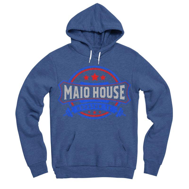 Maio House (The Best Thing) Men's Sponge Fleece Pullover Hoody by M A R I A N A    Z A P A T A