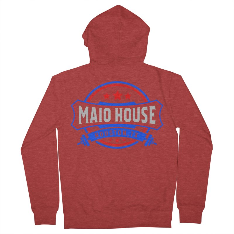 Maio House (The Best Thing) Women's French Terry Zip-Up Hoody by M A R I A N A    Z A P A T A