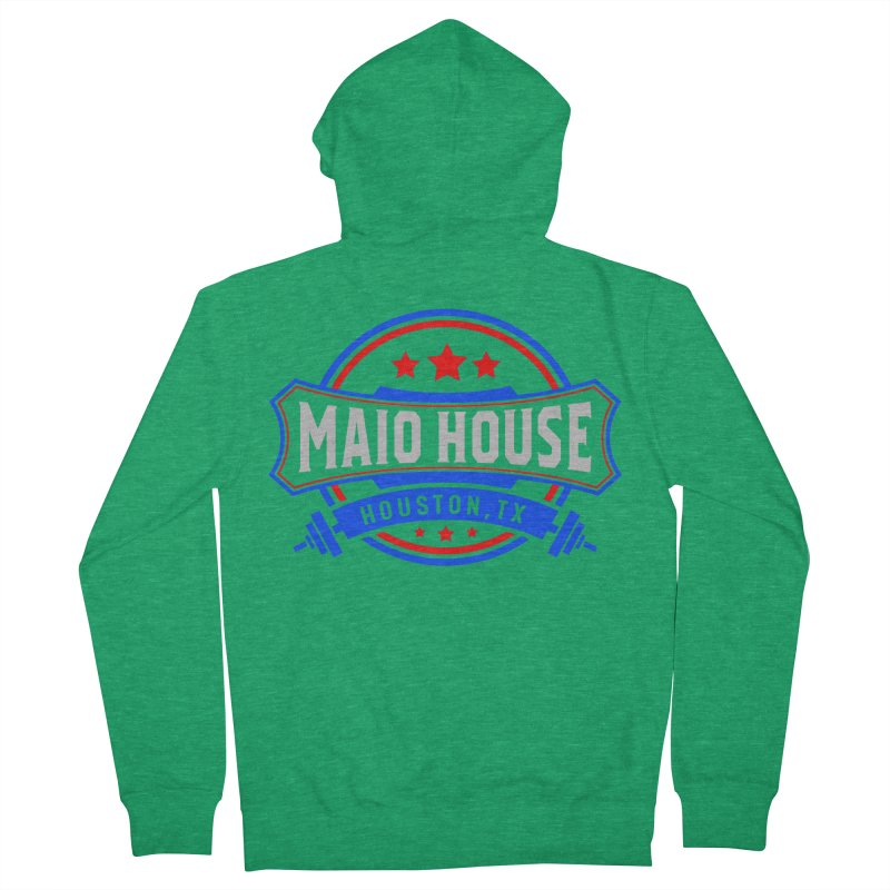 Maio House (The Best Thing) Men's Zip-Up Hoody by M A R I A N A    Z A P A T A
