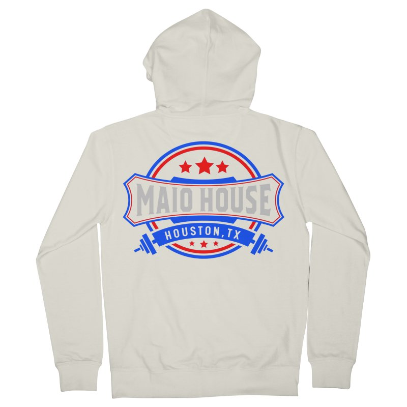Maio House (The Best Thing) Men's French Terry Zip-Up Hoody by M A R I A N A    Z A P A T A