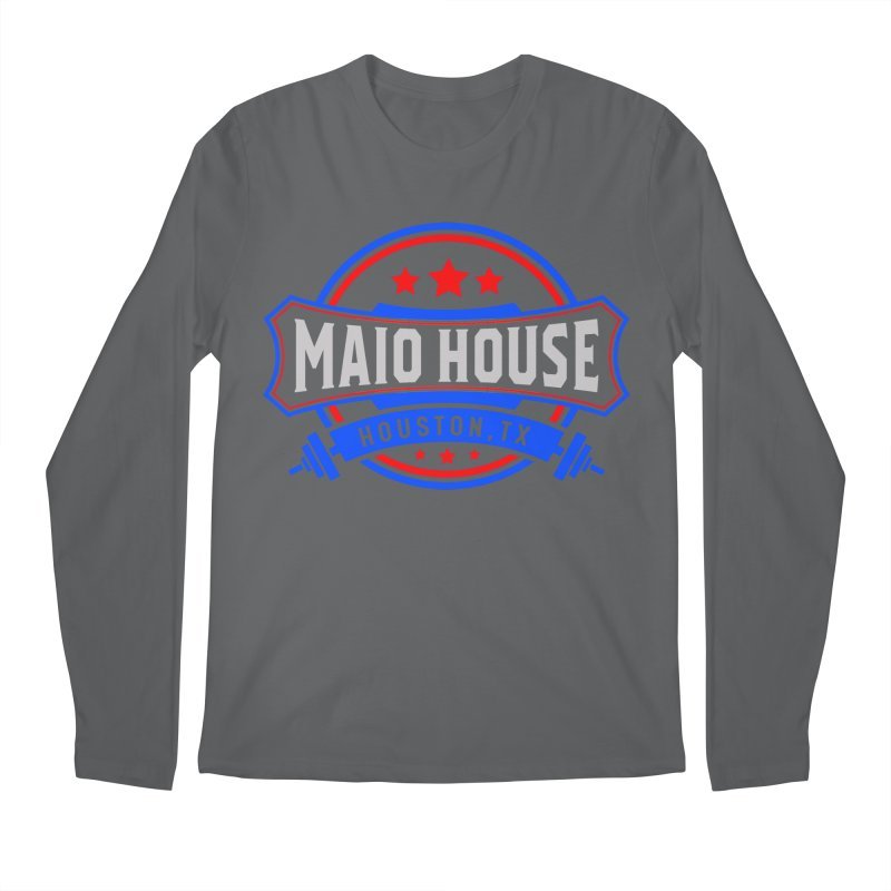 Maio House (The Best Thing) Men's Longsleeve T-Shirt by M A R I A N A    Z A P A T A