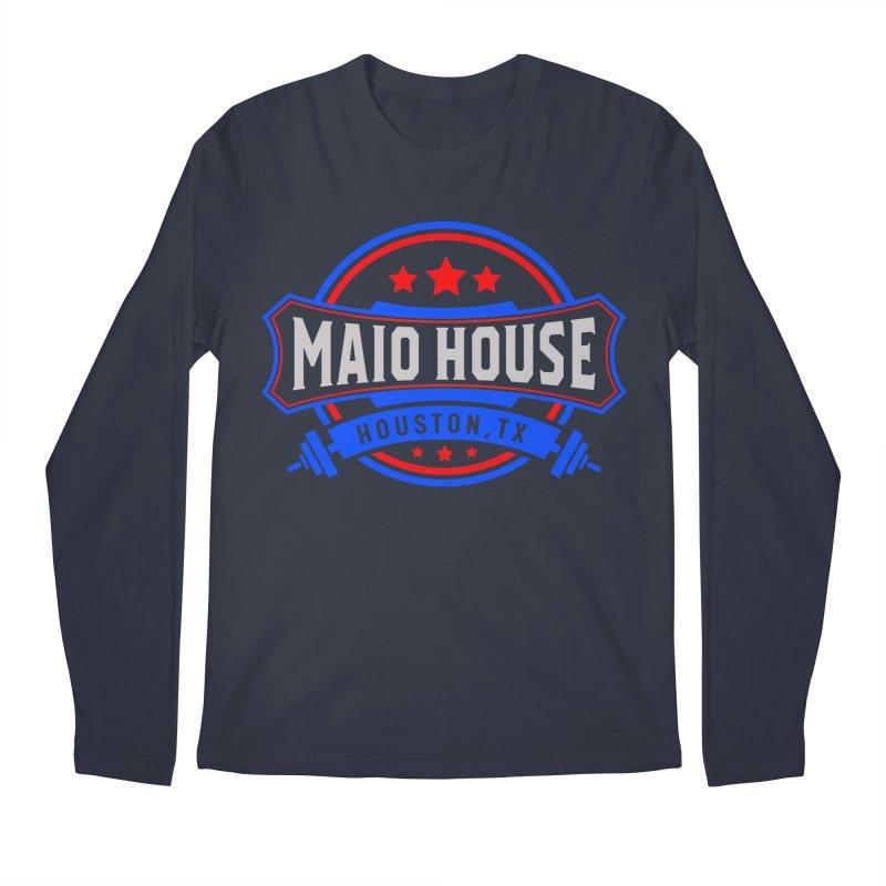 Maio House (The Best Thing) Men's Regular Longsleeve T-Shirt by M A R I A N A    Z A P A T A