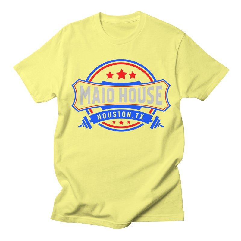 Maio House (The Best Thing) Men's Regular T-Shirt by M A R I A N A    Z A P A T A