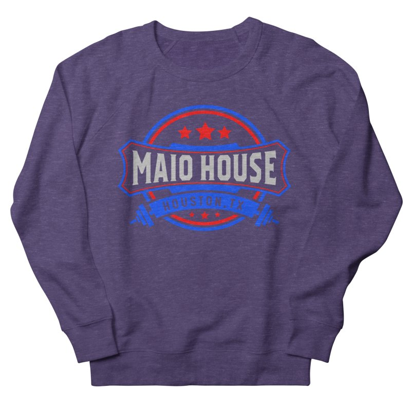 Maio House (The Best Thing) Men's French Terry Sweatshirt by M A R I A N A    Z A P A T A