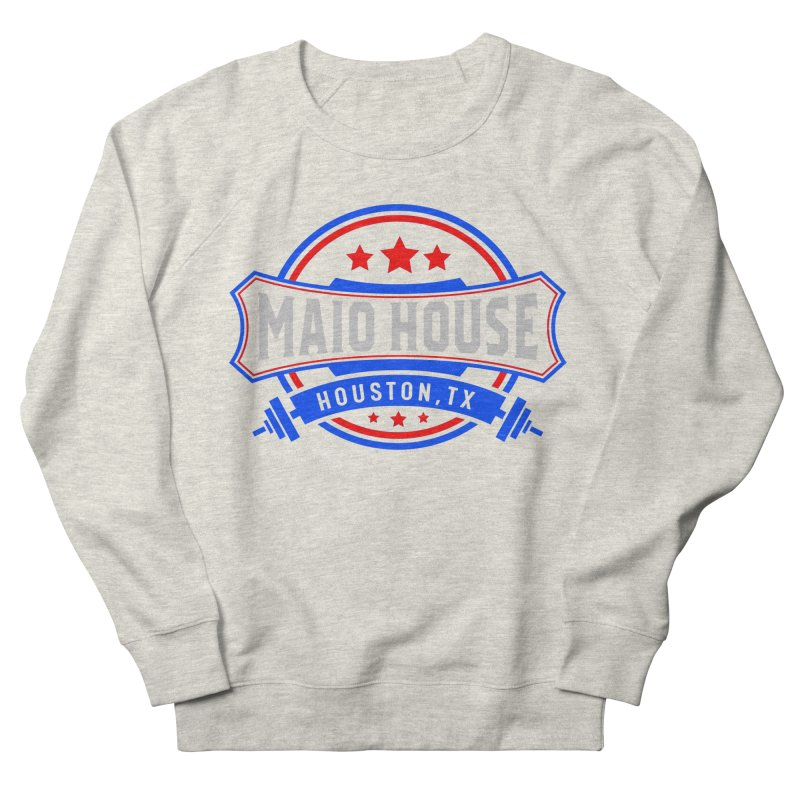 Maio House (The Best Thing) Men's Sweatshirt by M A R I A N A    Z A P A T A