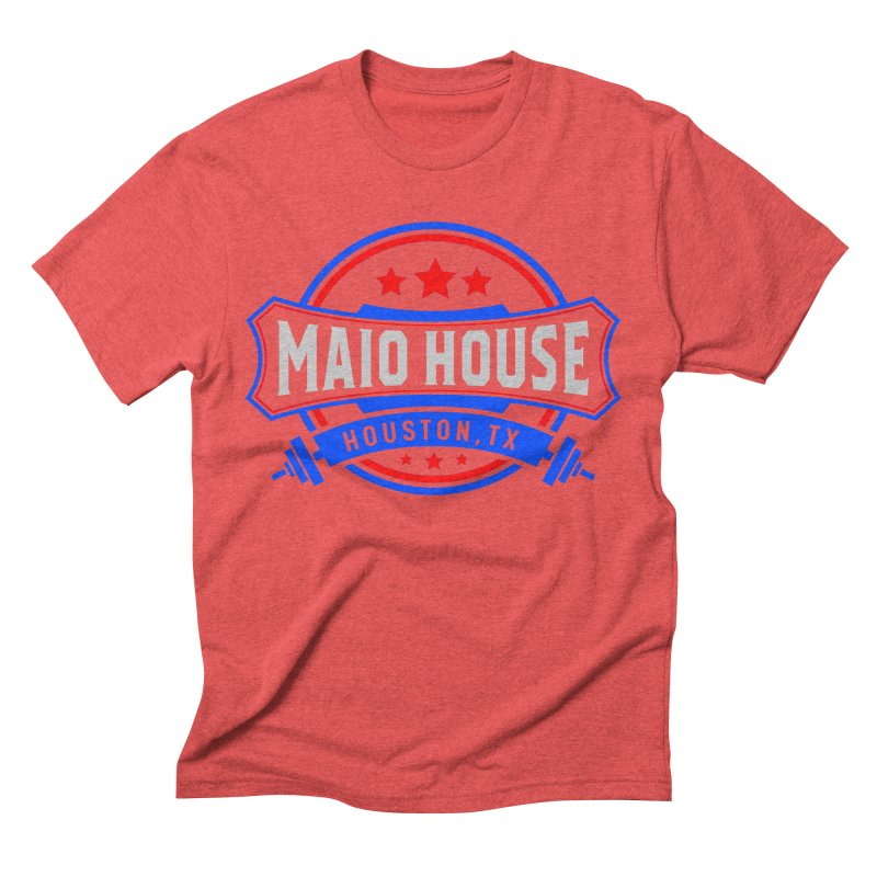 Maio House (The Best Thing) Men's Triblend T-Shirt by M A R I A N A    Z A P A T A