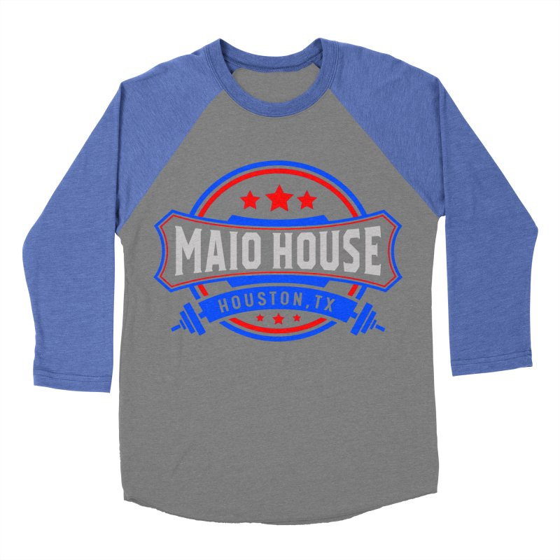 Maio House (The Best Thing) Men's Baseball Triblend Longsleeve T-Shirt by M A R I A N A    Z A P A T A