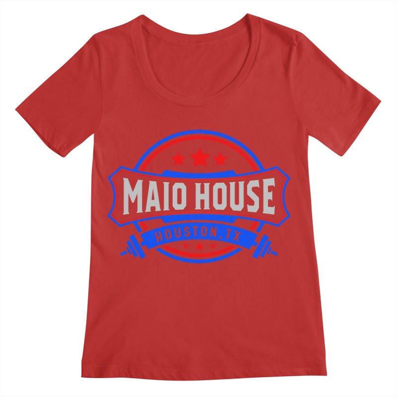 Maio House (The Best Thing) Women's Regular Scoop Neck by M A R I A N A    Z A P A T A