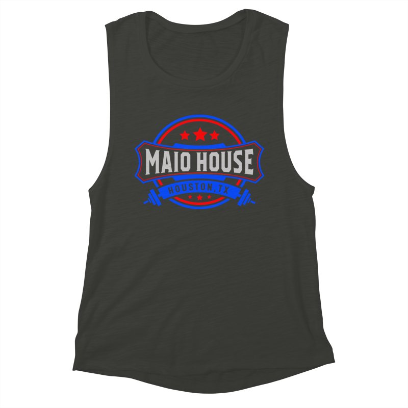 Maio House (The Best Thing) Women's Muscle Tank by M A R I A N A    Z A P A T A