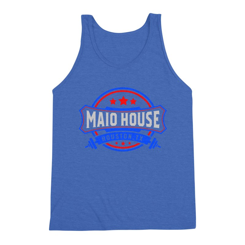 Maio House (The Best Thing) Men's Triblend Tank by M A R I A N A    Z A P A T A