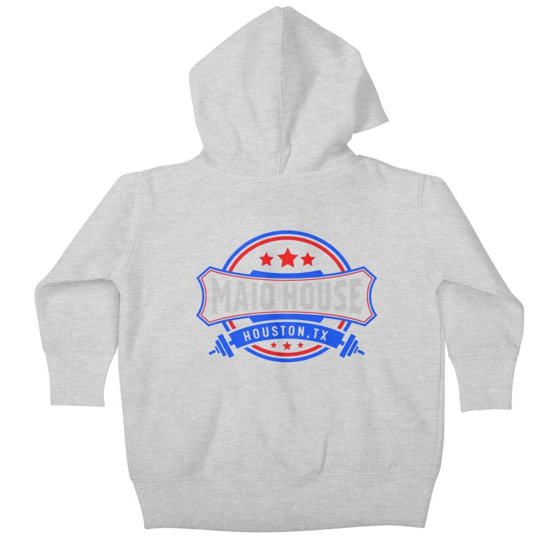 Maio House (The Best Thing) Kids Baby Zip-Up Hoody by M A R I A N A    Z A P A T A