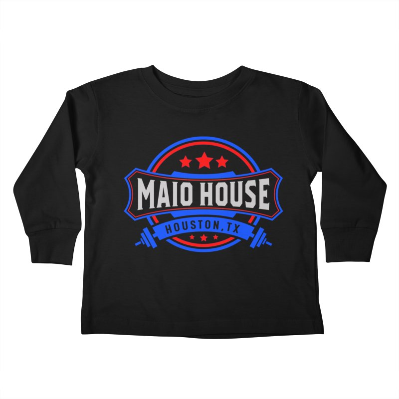 Maio House (The Best Thing) Kids Toddler Longsleeve T-Shirt by M A R I A N A    Z A P A T A