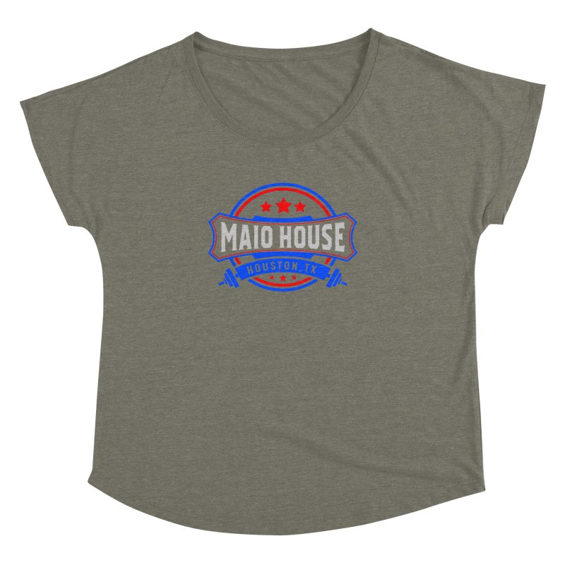 Maio House (The Best Thing) Women's Dolman Scoop Neck by M A R I A N A    Z A P A T A